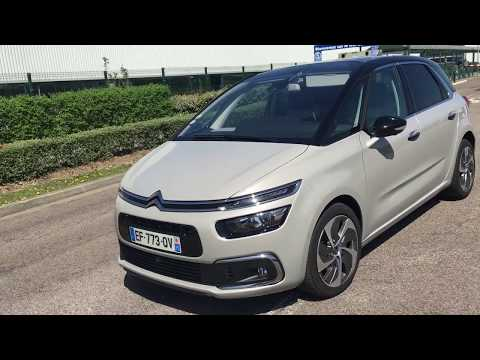 Citroen C4 Spacetourer Test Drive