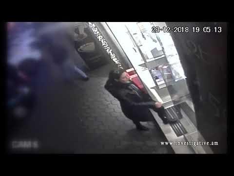 Գողություն՝ ժամացույցի խանութից (տեսանյութ)