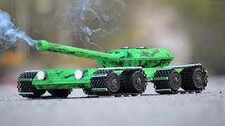 How To Make a Tank | Amazing Military Tank That Shoots