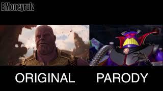 Disney/Pixars AVENGERS: INFINITY WAR Side-By-Side W/ Original Trailer