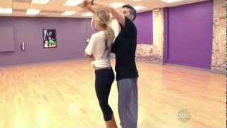 Kristin Cavallari dancing to Diamond's Are A Girl's Best Friend