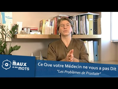 Contre-indications massage de la prostate