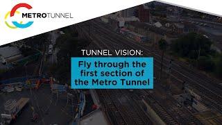 Fly through the Metro Tunnel