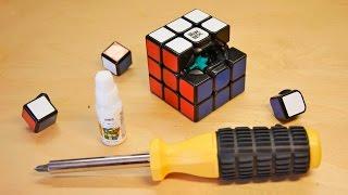 LIMPIAR y LUBRICAR un cubo de RUBIK | HD | Tutorial | Español