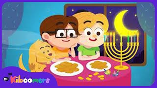 Hanukkah Oh Hanukkah Song for Kids | Chanukah Song | The Kiboomers