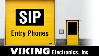 VoIP SIP Entry Phones with Relay