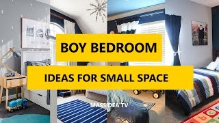 50+ Cools Boy Bedroom Designs Ideas For Small Space 2017