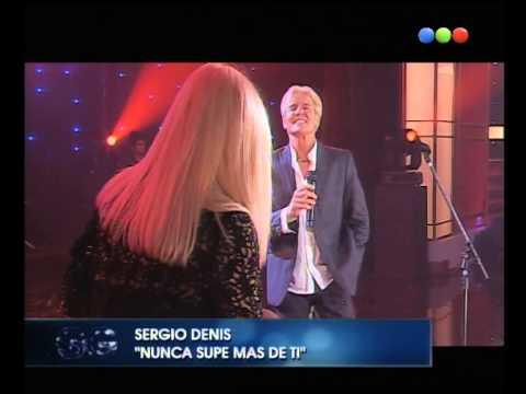 "Sergio Denis canta ""Nunca supe más de ti"" -Susana Giménez"