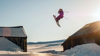 Freeskier Cody LaPlante Sessions an Abandoned Ghost Town