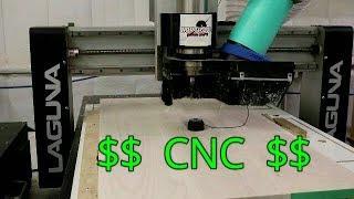 How to Make Money with a CNC // Laguna IQ CNC //Aspire Tutorial