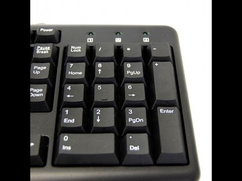 how to solve the keyboard number pad not working problem in win 7/8/8.1 and 10.