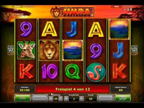 15.000 Euro Gewinn beim Spielautomat African Simba
