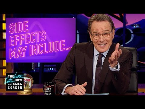 Bryan Cranston's Side Effects for Guest Hosting