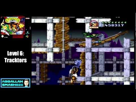 "Let's Play Battletoads in Battlemaniacs: Level 6 - ""Tracktors"" Walkthrough with Abdallah"