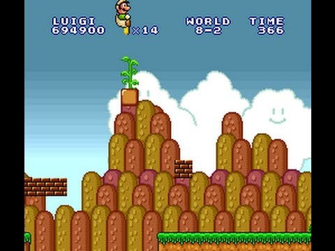 TAS HD: SNES Super Mario All-Stars: Lost Levels
