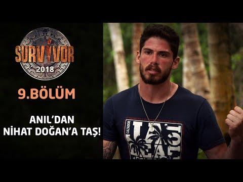 Survivor 2018 | 9. Bölüm | Anıl'dan Nihat Doğan'a taş!