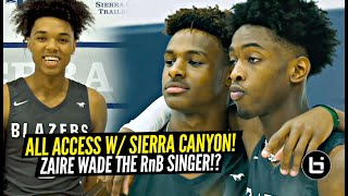 Meet The 2019 Sierra Canyon Squad!!! ALL ACCESS w/ Zaire Wade, Bronny, BJ Boston, Amari & More!!
