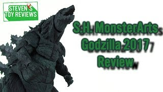 S.H.MonsterArtsAnimeGodzilla2017ReviewGODZILLA怪獣惑星
