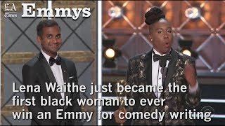 Watch Lena Waithe's historical win at the 2017 Emmy Awards | Los Angeles Times