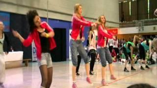 Anna und Sarah 2. Platz M- Reihe Norddeutsche Meisterschaft 2011