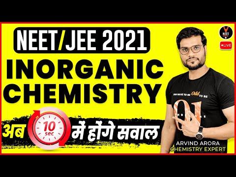 Inorganic Chemistry Tips And Tricks #2 | NEET 2021 Preparation ...