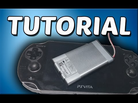 PS Vita Battery Replacement