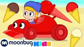 My Magic Pet Morphle - The Icecream Racecar!   Full Episodes   Funny Cartoons for Kids   Moonbug TV