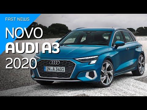 Novo Audi A3 Sportback 2020 evolui no visual e tecnologia