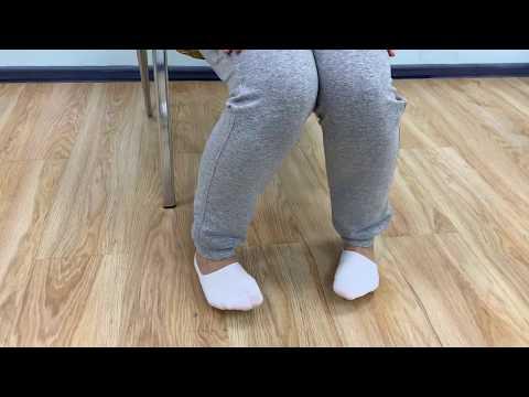 Упражнения от боли в голеностопном суставе
