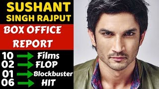 Sushant Singh Rajput Hit and Flop All Movies List With Box Office Collection Analysis - Download this Video in MP3, M4A, WEBM, MP4, 3GP