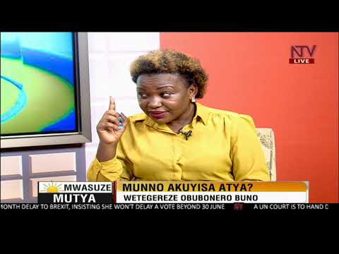 NTV Mwasuze Mutya:Discussing Emotional abusers with Mariam Nagujja
