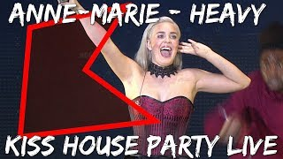 Anne Marie   Heavy (LIVE) | KISS House Party
