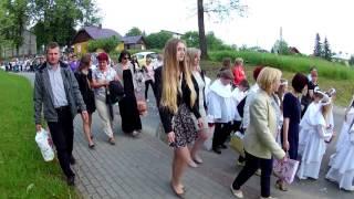 Procesja Bożego Ciała Zręcin - Świerzowa Polska