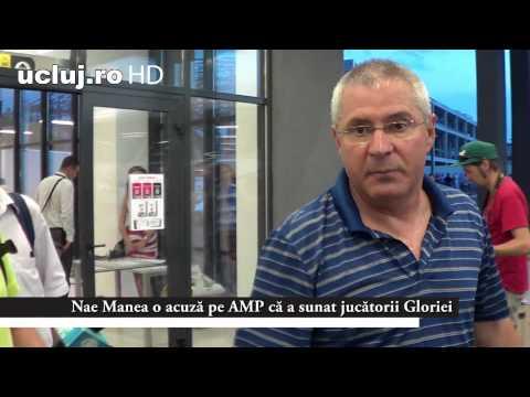 Nae Manea o acuză pe AMP că a sunat jucătorii Gloriei Bistrita