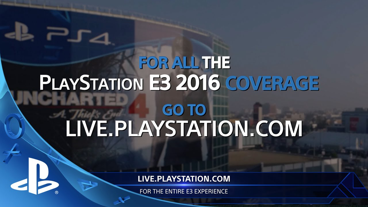 PlayStation at E3 2016: How to Watch Live