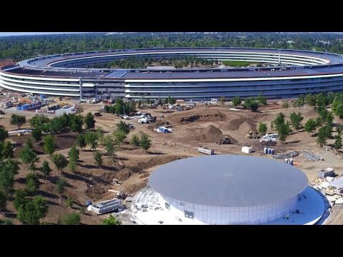 Apple's massive, glitzy new headquarters