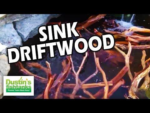 Manzanita Driftwood: How to Sink Driftwood