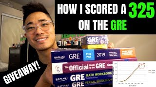 HOW I STUDIED FOR THE GRE! | TIPS & STRATEGIES (SCORE 325)