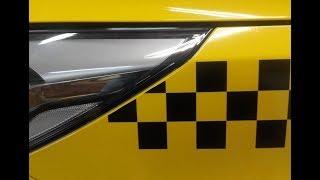 Чтобы получить лицензию такси Московской области, автомобиль должен быть оклеен.