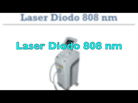 Diode laser 808 nm 300W Wheeled<br />- Liquid cooling temperature adjustable<br />- Handpiece surface 12x12 mm Short<br />- Fluence adjustable 0 - 40J cm2
