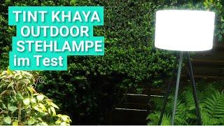 tint Khaya im Test - Die ZigBee Outdoor-Stehlampe ausprobiert
