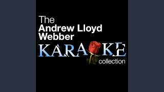 Sunset Boulevard - As If We Never Said Goodbye - Karaoke Version
