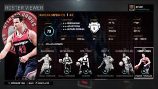 FINAL NBA 2K16 Rosters and Ratings!