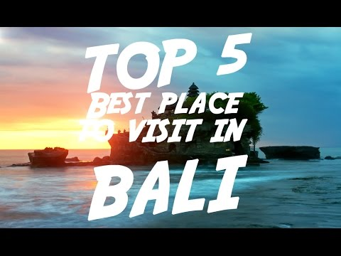 Video TOP 5 Best Place To Visit In Bali | Visit Indonesia
