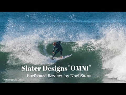 "Kelly Slater Designs ""Omni"" Surfboard Review by Noel Salas Ep. 68"