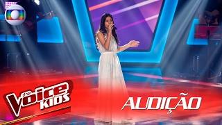 Juliana Gorito canta 'Put Your Records On' na Audição – The Voice Kids | 2ª Temporada