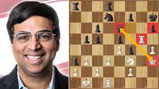 Anand Wins Tal's Memorial 2018. | Brilliant Game in the Style of Tal Himself
