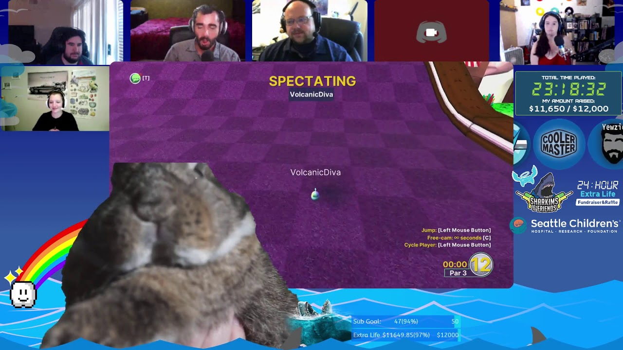 Look at those Bunny Cheeks! - 24Hr Extra Life Fundraiser 2020 Part 2