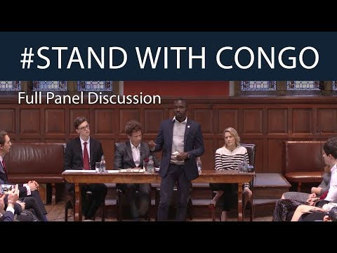 #StandWithCongo | Panel Discussion with Robin Wright | Oxford Union