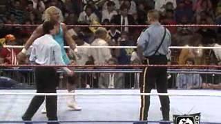 Wrestlemania 7: Big Bossman Vs. Mr Perfect
